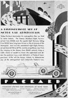 1932 PACKARD NYC ADVERT-B&W