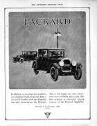 1925 PACKARD ADVERT-B&W