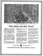 1920 PACKARD ADVERT-B&W
