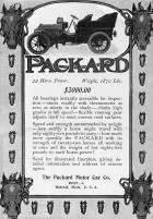 1904 PACKARD ADVERT-B&W