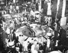 1952 PACKARD PAN AMERICAN CONV AT NY AUTO SHOW PRESS PHOTO-B&W