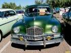 Packard 1950 Custom Eight 4dr sdn Grn front
