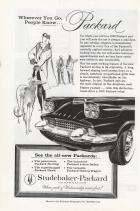 1958 PACKARD ADVERT-B&W