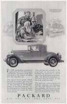 1928 PACKARD ADVERT-B&W