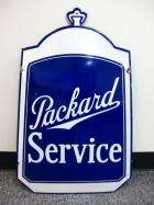19XX PACKARD RADIATOR SHELL DEALER SIGN