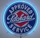 19XX PACKARD NEON SERVICE SIGN