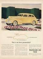 1940 PACKARD 120 EIGHT ADVERT