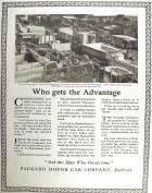 1920 PACKARD ADVERT-B&W