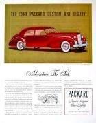1940 PACKARD 180 CUSTOM SUPER EIGHT 4DR SEDAN