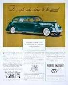 1940 PACKARD 180 SUPER EIGHT 4DR SEDAN ADVERT