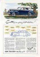 1941 PACKARD 110 DELUXE TOURING SEDAN ADVERT