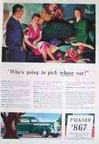1940 PACKARD ADVERT
