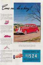 1940 PACKARD ADVERT