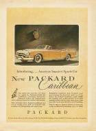 1953 PACKARD CARIBBEAN ADVERT