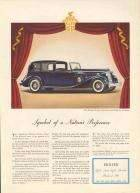 1936 Packard Twelve Town Car by Le Baron