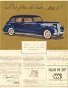 1940 Packard Long Wheelbase Sedan
