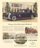 1930's Packard Twelve Club Sedan Advert