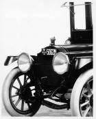 1913 Packard 48 imperial landaulet/limousine, front end detail