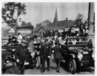 1916 Packard salon touring car and phaeton at possible political rally