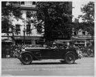 1925-1926 Packard touring car, with Chief Justice Huges in 1927 parade honoring Charles Lindbergh