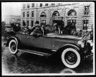 1927 Packard touring car in New York reception parade for Queen Marie of Romania