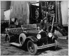 1929 Packard phaeton at oil refinery