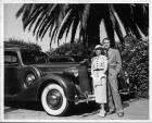 1936 Packards, pictured with their owners Mr. & Mrs. Onslow Stevens