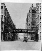 Packard factory avenue 'Quality First'