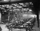 Packard Motor Car Co. chassis assembly room, 1923-24
