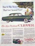 1953 PACKARD CLIPPER ADVERT