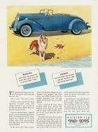 1935 PACKARD 120 ADVERT