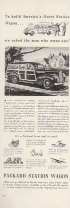 1941 PACKARD ADVERT-B&W