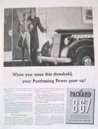 1940 PACKARD ADVERT-B&W